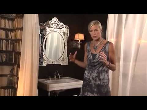 Candice Olson   Classic Luxe Bathroom 360p