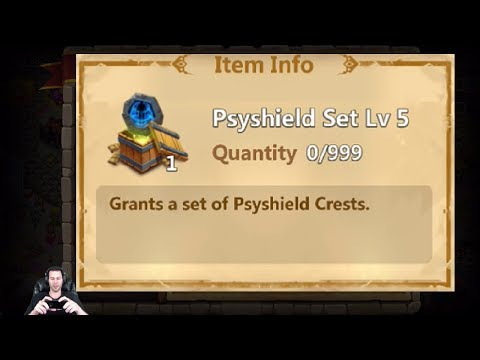 Physheild 5 Set For Sell IGG Forcing Me To Purchase Castle Clash