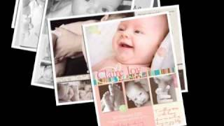 www.miniink.com.au. Mini Ink baby cards birth announcements, invitations and Christmas keepsakes