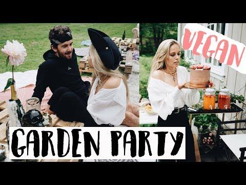 Huge Vegan Garden Party | Cornelia