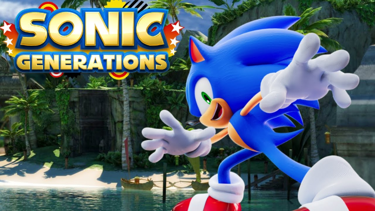 Sonic Generations: Jungle Joyride Act 1-2 (Changed Layout)