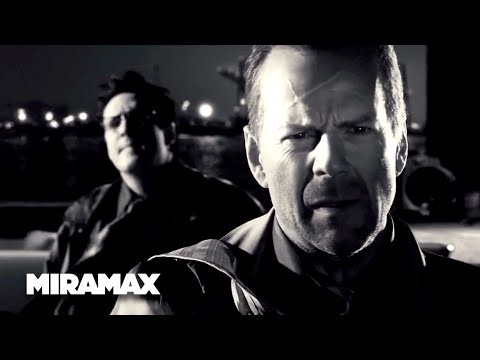 Sin City  'Loose Ends' HD  Bruce Willis, Michael Madsen  MIRAMAX