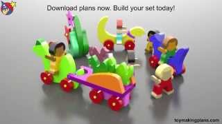 Wood Toy Plans Cave Kids Dinosaurs