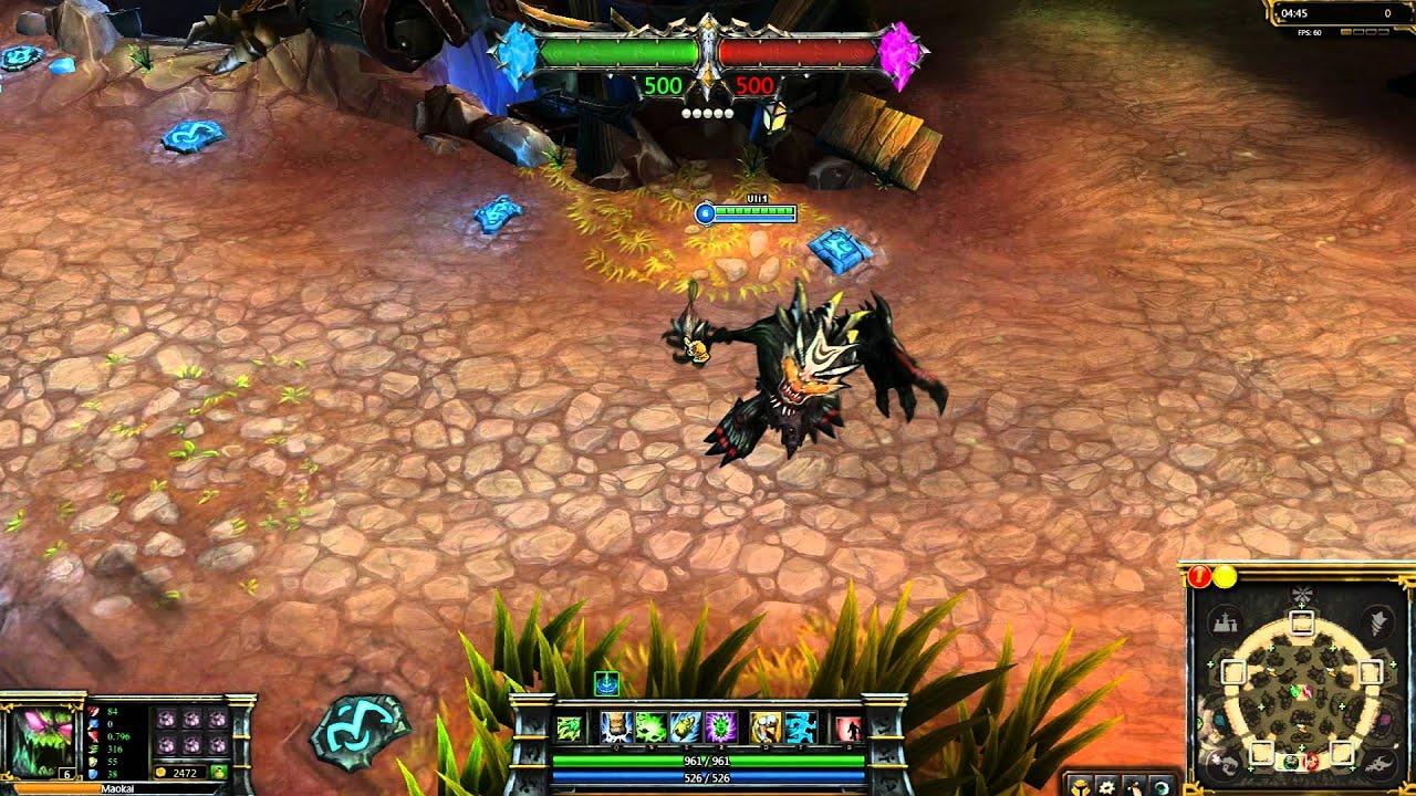(OLD) Totemic Maokai League of Legends Skin Spotlight ...