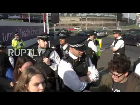 LIVE: Extinction Rebellion group issue call to 'shut down' Heathrow Airport