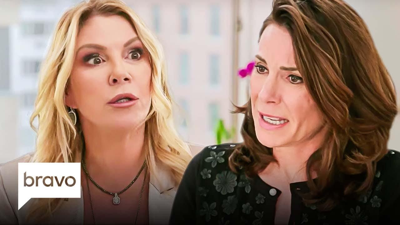 Luann and Ramona Gossip About Sonja's Dangerous Drinking Habits | RHONY Highlight (S13 E12)