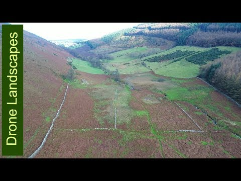 Glen Dhoo - The Forgotten Valley featuring The Point Tholtan - Isle of Man by Drone