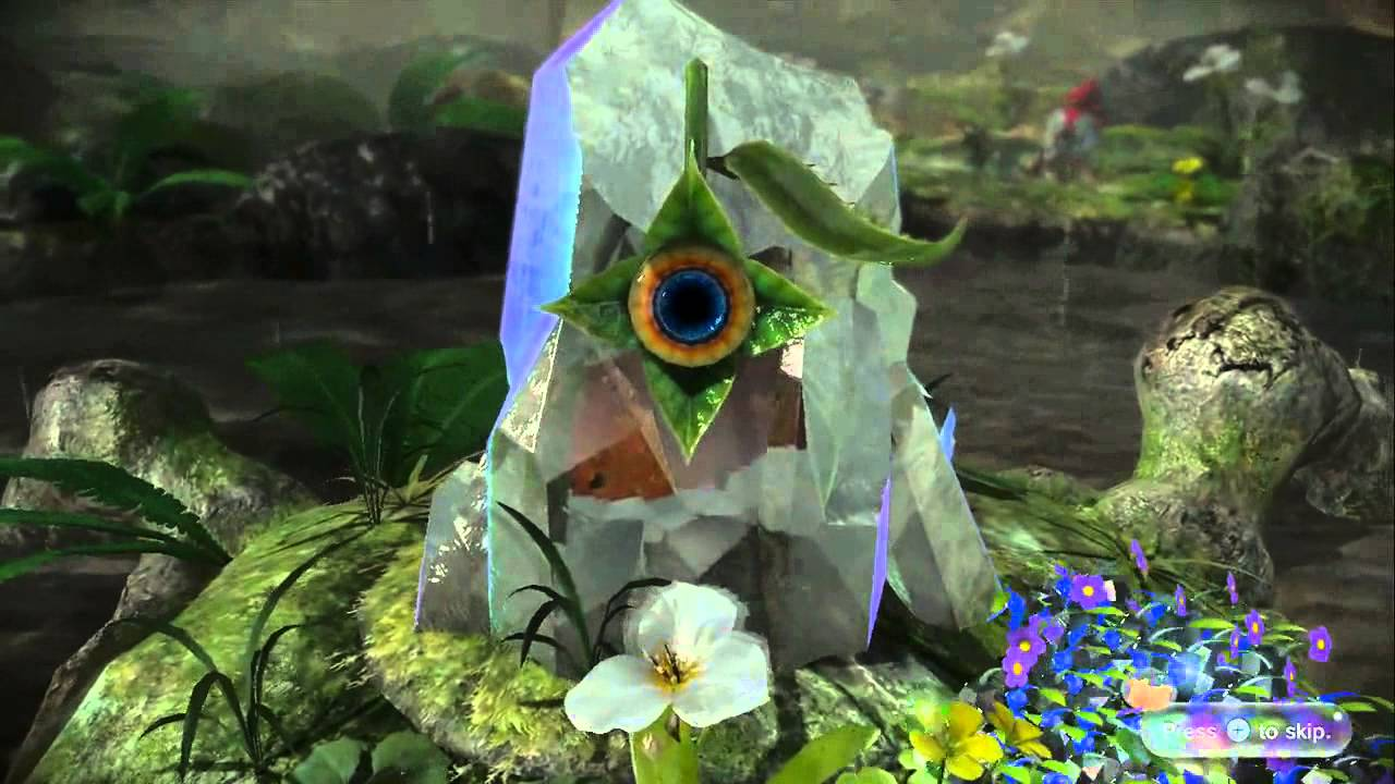 Pikmin 3 Bosses Intro And Death Cutscenes Youtube