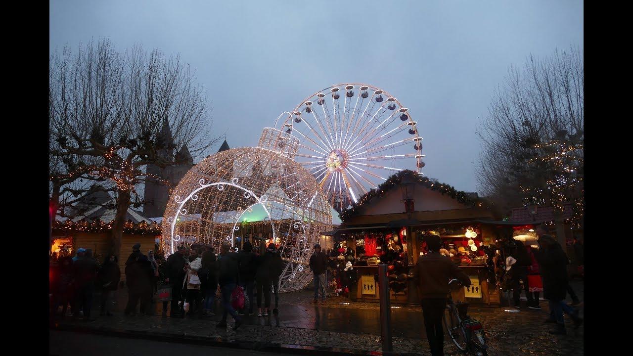 Groningen Weihnachtsmarkt.Weihnachtsmarkt Maastricht 2018 Vrijhof Magisches Maastricht 4k