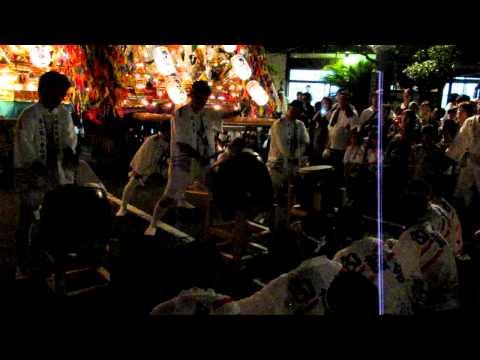 二島祇園山笠その3(平成24年7月15日)