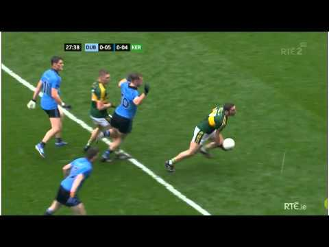 Dublin Attacking 1st Half :Dublin vs Kerry All Ireland Football Final 2015