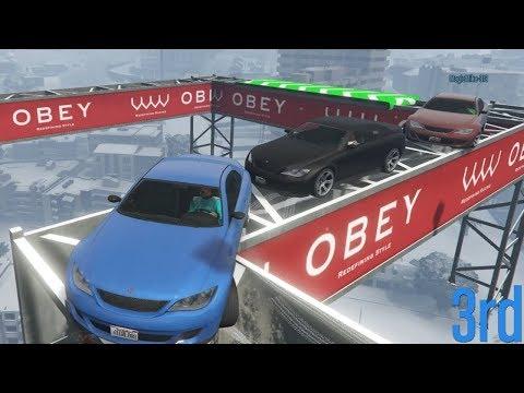 YARASKY HEEFT EEN KLEIN PROBLEEMPJE! (GTA V Online Transform Races)