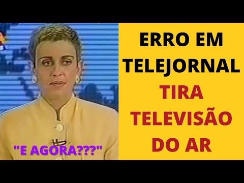 Erro na escalada do Jornal do SBT - 1993