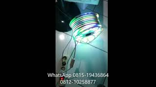 lampu neon flex 50m rgb