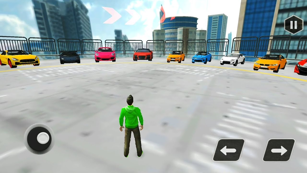 Extreme car driving simulator 3d impossible stunt for Simulatore 3d