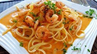 Pasta Soße mit Garnelen   Thermomix® TM5
