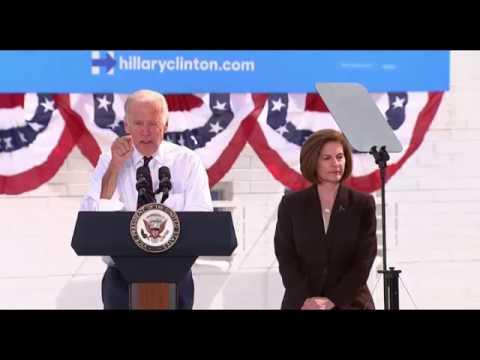 Joe Biden Las Vegas FULL SPEECH Campaigns For hillary Clinton 10/13/16