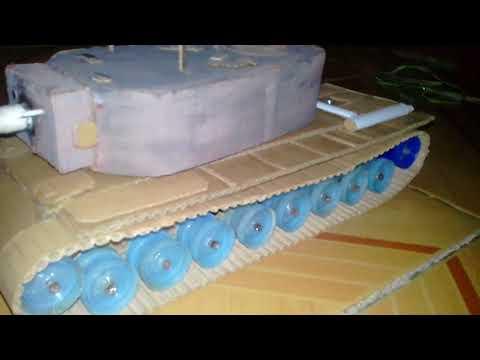My homemade cardboard t29 heavy tank from USA