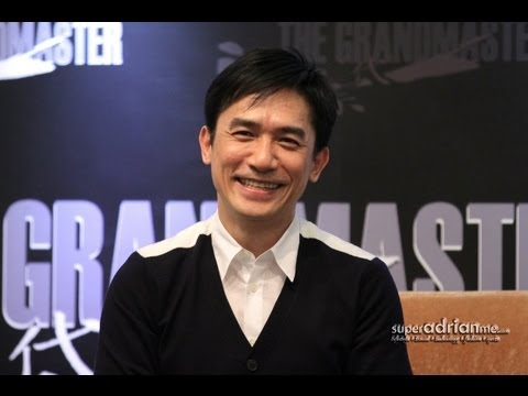The Grandmaster (一代宗师) Press Conference - Tony Leung & Wong Kar Wai | SUPERADRIANME.com