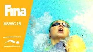 Daria K USTINOVA (RUS) wins 200m backstroke in Moscow