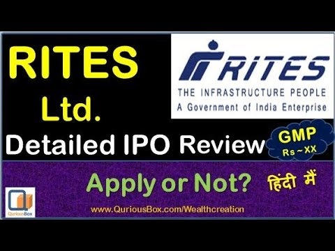 Rites ipo allotment basis for retail investors