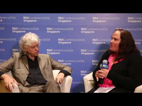 RSAC APJ Interview with Sir Bob Geldof