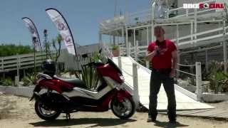 Yamaha NMAX 125cc scooter road test and review by Bike Social
