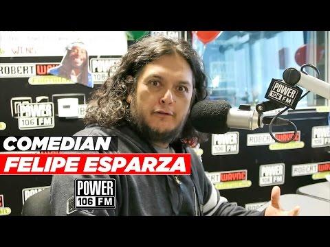 Comedian Felipe Esparza talks trash On The Cruz Show