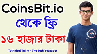 Coinsbit I How To Earn Money Online Free 16000 Taka From CoinsBit.io I Make Money Online Sites 2019
