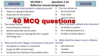 IELTS Listening MCQ - complete practice test (40 MCQ)