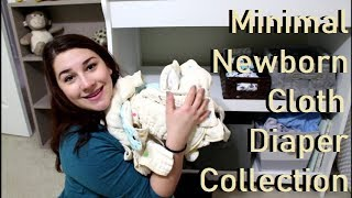 Minimal Newborn Cloth Diaper Stash Collection : Thirsties & Green Mountain Diapers