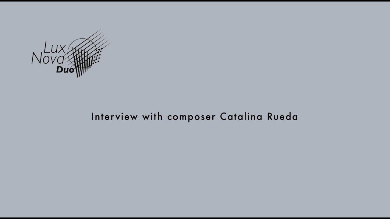 Hamburg Dialogues - Interview with composer Catalina Rueda
