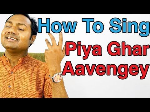 """How To Sing """"Piya Ghar Aavenge - Kailash Kher"""" Bollywood Singing Lesson By Mayoor"""