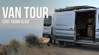 Van Tour with Adventure Chef Adam Glick