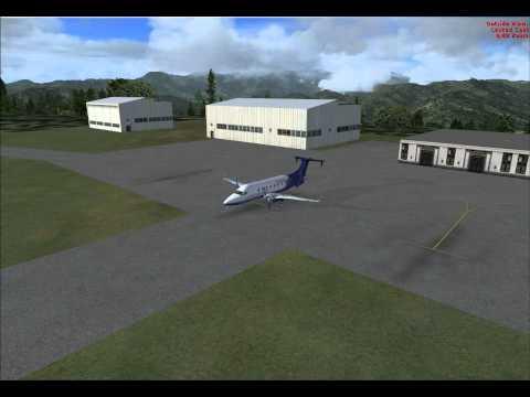 LIFE GUARD FLIGHT B1900 - PRE-FLIGHT