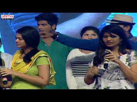 Ramya Behara And Team Song Performance At Gentleman Audio LaunchNani, Surabhi
