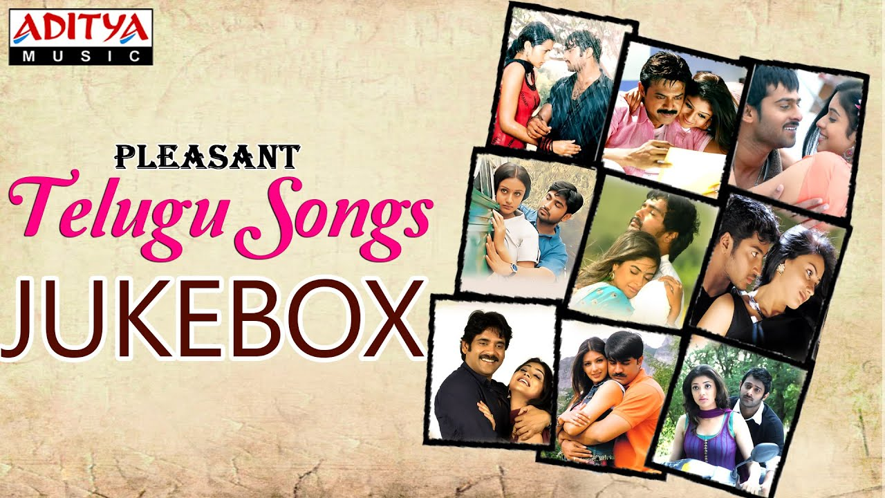 pleasant telugu hit songs jukebox vol 1 youtube