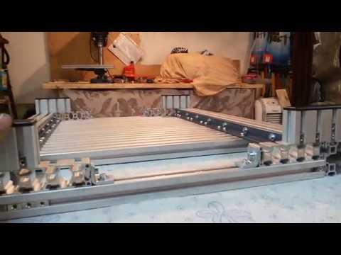 Строим новый ЧПУ Фрезер ( алюминиевый профиль) часть №1