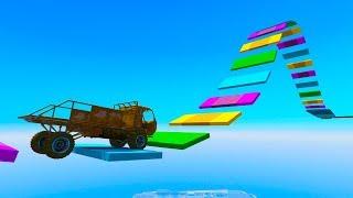RAMPA SUPER RARA!! - CARRERA GTA V ONLINE - GTA 5 ONLINE