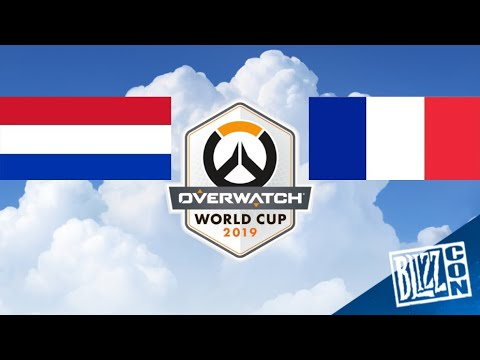Match Complet PAYS-BAS VS FRANCE Overwatch World Cup 2019 HD