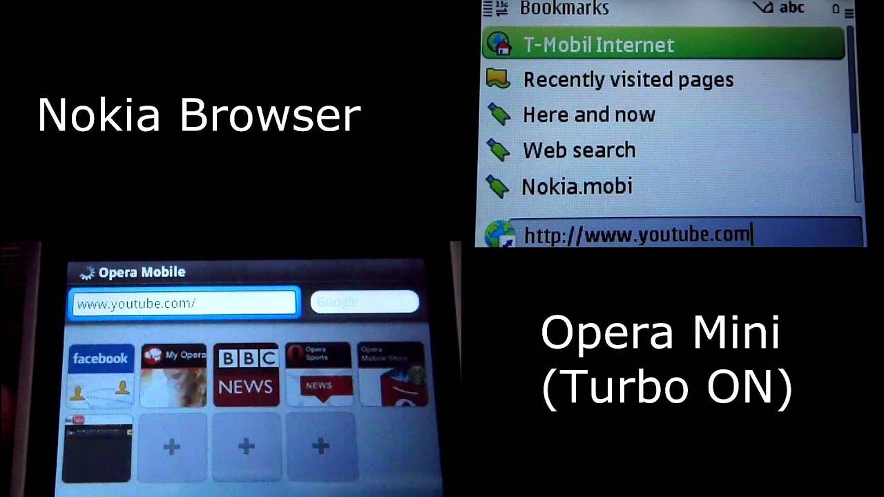 Comparison: Opera Mini vs Nokia Browser