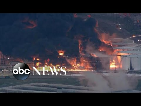 Chemical fire leads to air quality concerns