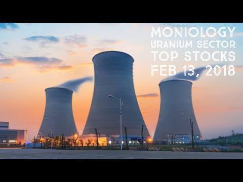 Moniology Uranium Sector Top Stocks Feb 13, 2018