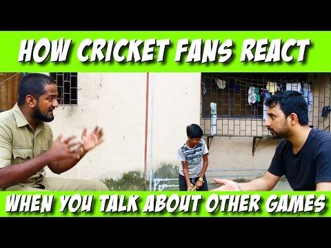 How Indian Cricket fans React - Apna Bombay Apna Cheeta Camp