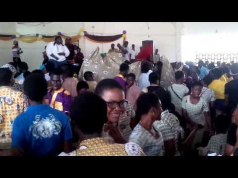 Gasmilla Rocks Okuapeman Senior High School (OKUAS)