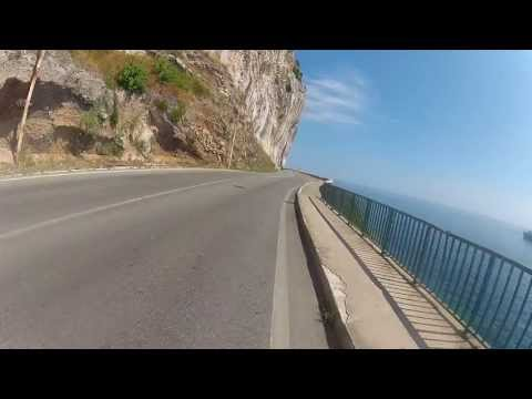 The road between France and Italy. Eze and Menton area. Côte d'Azur.  Fatih Aksoy-2013