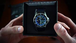Unboxing Seaplane Automatic from Microbrand Watch company Farr + Swit