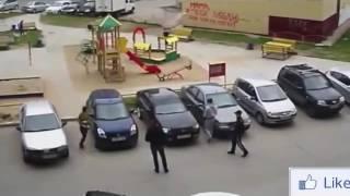 Жесткие драки на дороге!