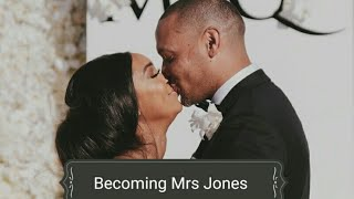Our perfect wedding : Minnie Dlamini  and Quinton Jones : Power couple