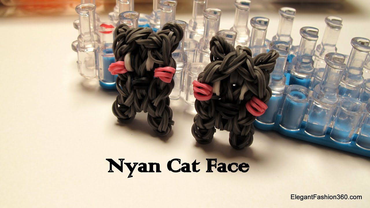 How To Make A Cat Out Of Loom Bands